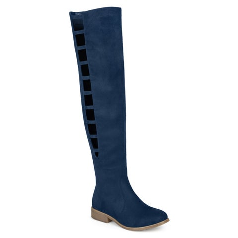 Journee Collection Women's 'Pitch' Regular and Wide Calf Boots