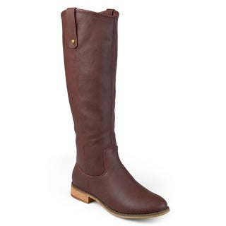 Link to Journee Collection Womens 'Taven' Regular, Wide, Extra Wide Calf Boots Similar Items in Women's Shoes