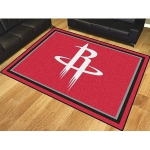 NBA - Houston Rockets 8'x10' Rug