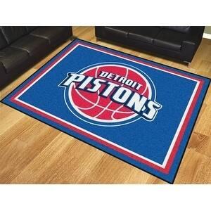 NBA - Detroit Pistons 8'x10' Rug