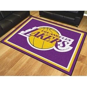 NBA - Los Angeles Lakers 8'x10' Rug