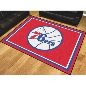 NBA - Philadelphia 76ers 8'x10' Rug