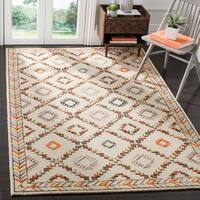 Safavieh Bellagio Contemporary Geometric Hand-Tufted Wool Ivory/ Multi Area Rug - 9' x 12'