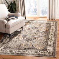 Safavieh Atlas Traditional Oriental Viscose Beige/ Ivory Area Rug - 8' x 10'