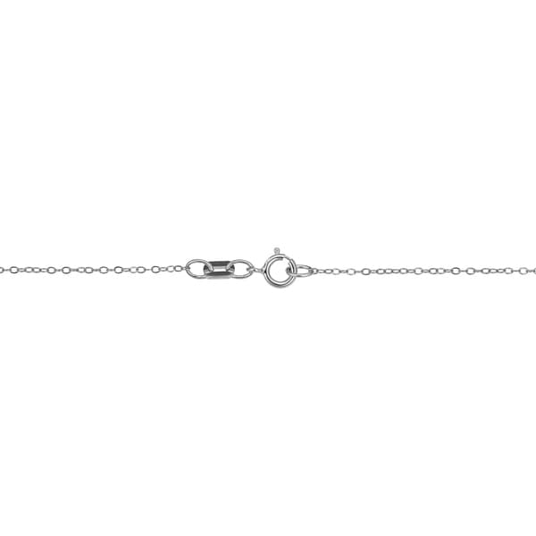 """0.90mm Adjustable Shiny Cable Chain Necklace REAL Sterling Silver Up To 22/"""""""