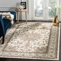 Safavieh Atlas Traditional Oriental Viscose Ivory/ Ivory Area Rug - 8' x 10'
