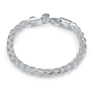 Hakbaho Jewelry Sterling Silver Thick Cut Classic Chain Bracelet|https://ak1.ostkcdn.com/images/products/16529277/P22864929.jpg?_ostk_perf_=percv&impolicy=medium