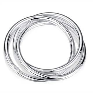 Hakbaho Jewelry Sterling Silver Multi Lined Classic Bangle|https://ak1.ostkcdn.com/images/products/16529288/P22864937.jpg?impolicy=medium