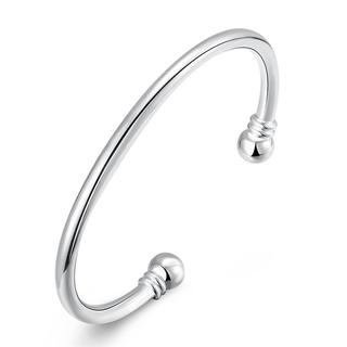 Hakbaho Jewelry Sterling Silver Classic Petite Open Bangle|https://ak1.ostkcdn.com/images/products/16529291/P22864939.jpg?_ostk_perf_=percv&impolicy=medium