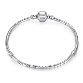 Hakbaho Jewelry The Original Plain Silver Bracelet
