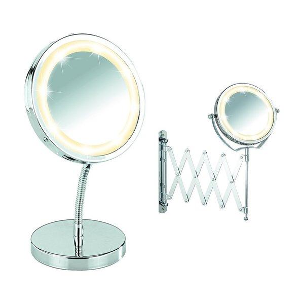 Wenko LED Telescopic Wall Mirror Brolo