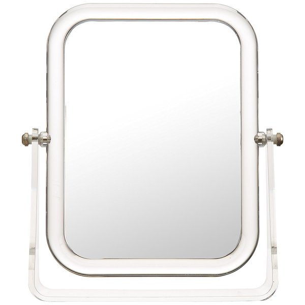 Wenko Noci Rectangular Standing Cosmetic Mirror