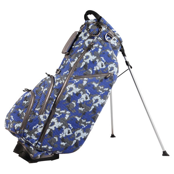 OUUL Multicolor Nylon 5-way Standing Golf Bag