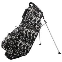 Ouul Silver Camo 5-way Golf Stand Bag