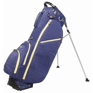OUUL Ribbed 5 way Golf Stand Bag Navy