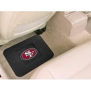 "NFL - San Francisco 49ers Utility Mat 14""x17"""