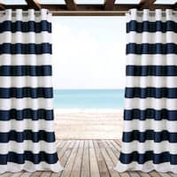 Lush Decor Stripe Outdoor Curtain Panel Pair