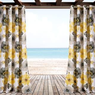 Lush Decor Leah Outdoor Curtain Panel Pair|https://ak1.ostkcdn.com/images/products/16534555/P22869693.jpg?impolicy=medium