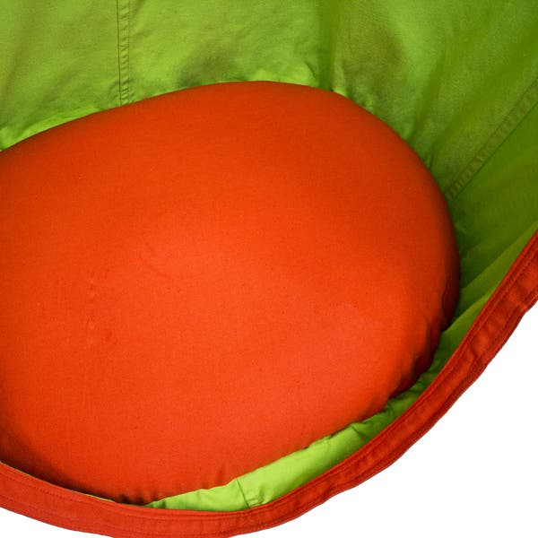 Pleasing Shop Sorbus Kids Pod Swing Chair Nook Pod Orange Free Camellatalisay Diy Chair Ideas Camellatalisaycom