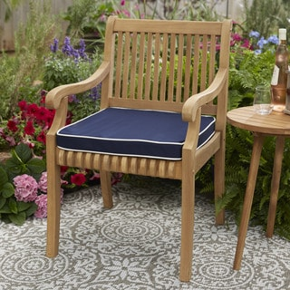 Kokomo Teak Dining Chair Cushion with Sunbrella Fabric