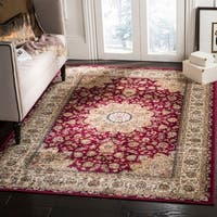 Safavieh Atlas Traditional Oriental Viscose Red/ Ivory Area Rug (8' x 10')