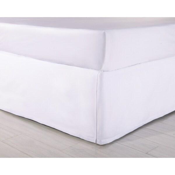 Modern Heirloom Tailored Full Bedskirt (White)