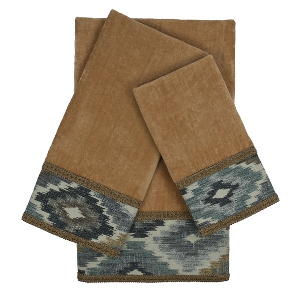 Sherry Kline Maricopa Nugget 3-piece Embellished Towel Set