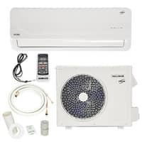 12,000 BTU 1 Ton Ductless Mini-Split Air Conditioner with Heat Pump 115V/60HZ - White