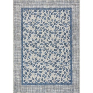 Nourison Garden Party Denim Indoor/Outdoor Area Rug - 7'10 x 10'6