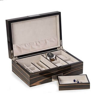 Bey Berk Kevin Lacquered Valet and Watch Box