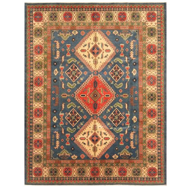 Shop Handmade Herat Oriental Afghan Tribal Kazak Wool Rug