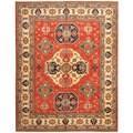 Herat Oriental Afghan Hand-knotted Tribal Kazak Wool Rug (8'4 x 10'5)