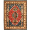 Herat Oriental Afghan Hand-knotted Tribal Kazak Wool Rug (8'3 x 10'1)