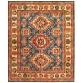 Herat Oriental Afghan Hand-knotted Tribal Kazak Wool Rug (8'3 x 10')
