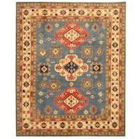 Handmade Herat Oriental Afghan Tribal Kazak Wool Rug  - 8'3 x 10' (Afghanistan)