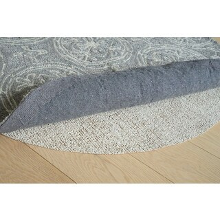 Eco Weave Eco-friendly Jute and Rubber Non-slip Rug Pad (12' Round)