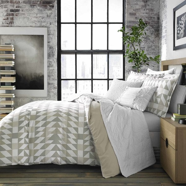 City Scene Piper Grey Comforter Set