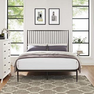 Annika Queen Farmhouse-style Platform Bed