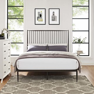 Annika Queen Farmhouse-style Platform Bed (3 options available)