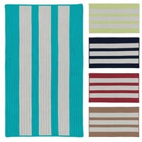 Coastal Breeze Indoor/Outdoor Braided Reversible Rug USA MADE - 8' x10'