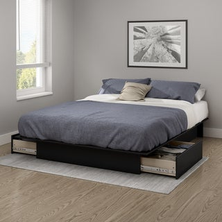 South Shore Gramercy Full/ Queen 54/60-inches Platform Bed with Drawers