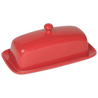 Now Designs Red Butter Dish Rectangular