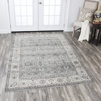 "Zenith Traditional Oriental Gray Area Rug (7'10 x 10'10) - 7'10"" x 10'10"""