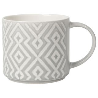Now Designs Mug Stacking Gray Diamante ( Set of 6)|https://ak1.ostkcdn.com/images/products/16536758/P22871638.jpg?impolicy=medium