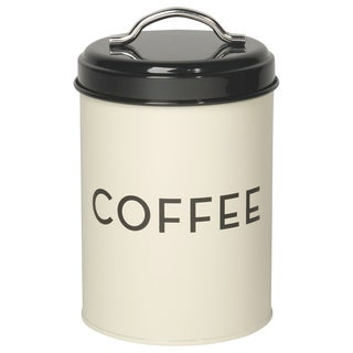 Now Designs Ivory Coffee Tin