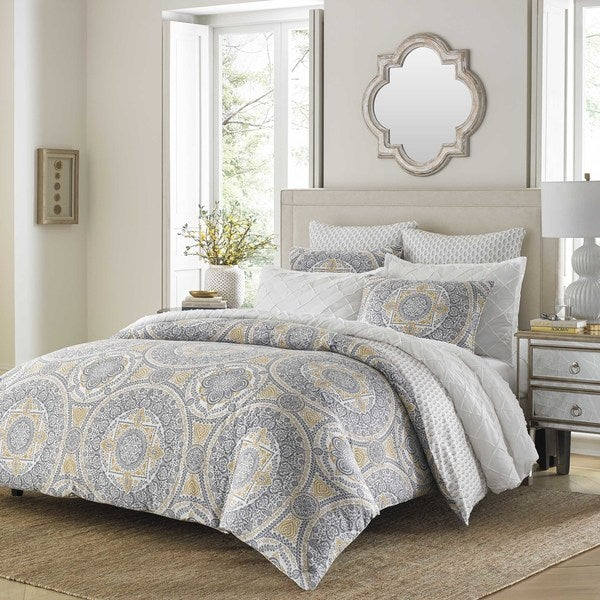 Stone Cottage Ibiza Grey Comforter Set