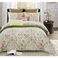 Lavish Night Rosemary 7-piece Cotton Duvet Set