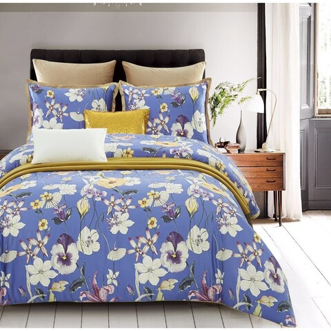 Lavish Night Central Park 7-piece Cotton Duvet Set