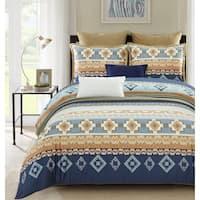 Lavish Night Egyptian Veil 7-piece Cotton Duvet Set