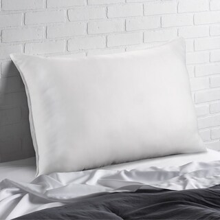 Signature Microfiber Memory Fiber Filled Pillow - All Type Sleepers - White